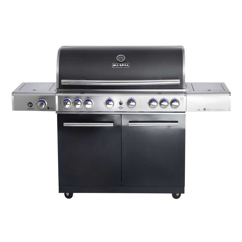 Allgrill Top-Line Chef XL Black-Line Volledelstahl Gasgrill mit Air System
