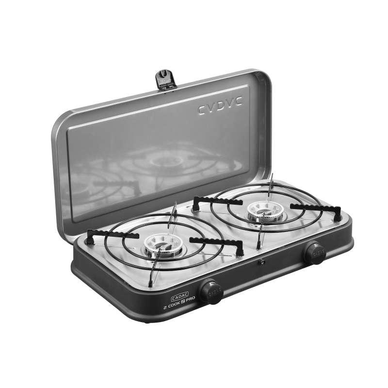 Cadac 2-Cook Pro Stove 50mbar BBQ Gasgrill Tischgrill Campinggrill 57 x 31 x 25 cm 202P0-10-DE