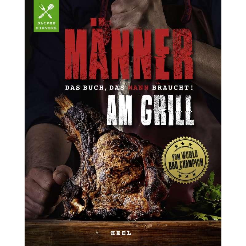 Rumo Barbeque Männer am Grill Buch Grillbuch Hardcover 128 Seiten inkl. Steakmesser