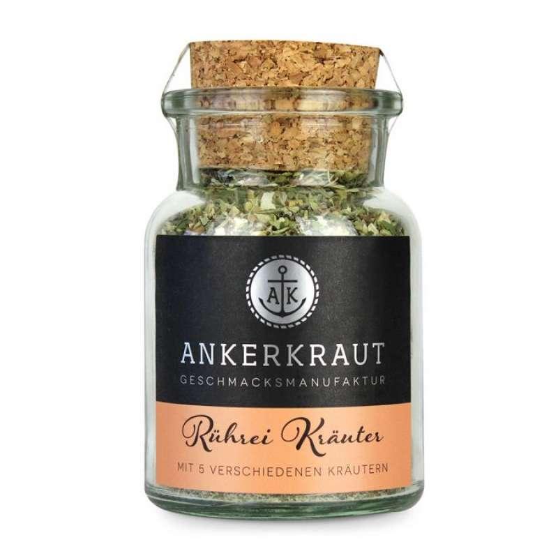 Ankerkraut Rührei Kräuter Gewürzzubereitung für aromatische Rühreier im Korkenglas 55 g