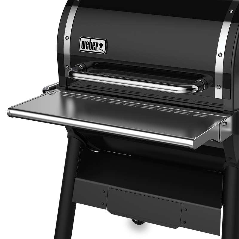 Weber klappbarer Fronttisch aus Edelstahl für SmokeFire EX4 Pelletgrill