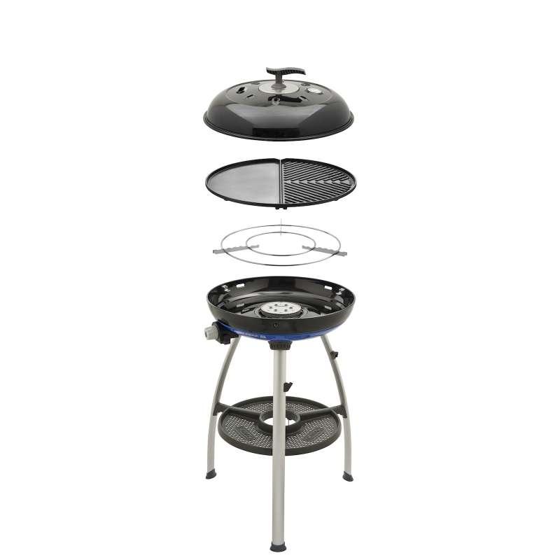 Cadac Carri Chef 2 BBQ Plancha Gasgrill Campinggrill 50mbar ø 47 cm 8910-80-DE