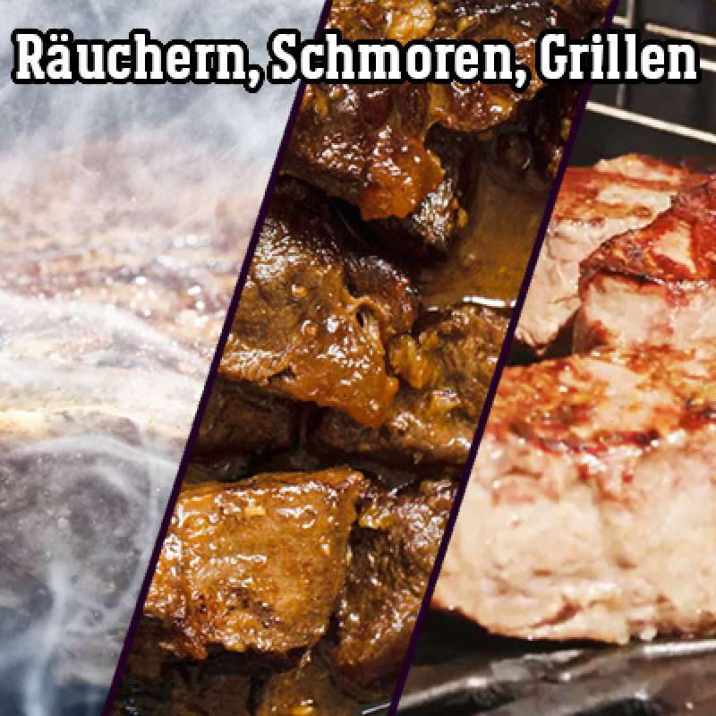06.11.2021 Grillkurs Räuchern, Schmoren, Grillen - 4 h - Samstag -
