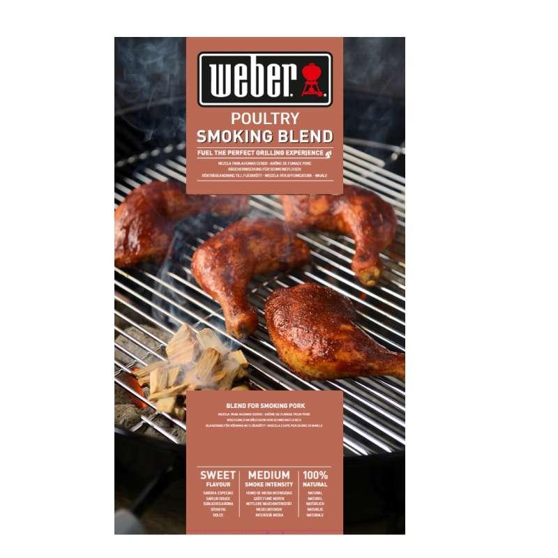 Weber Räucherchips Poultry aus Obsthölzern 700 g