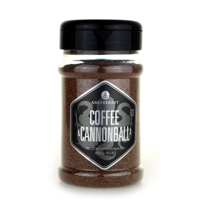 Ankerkraut Coffee Cannonball BBQ Rub 200 g Trockenmarinade