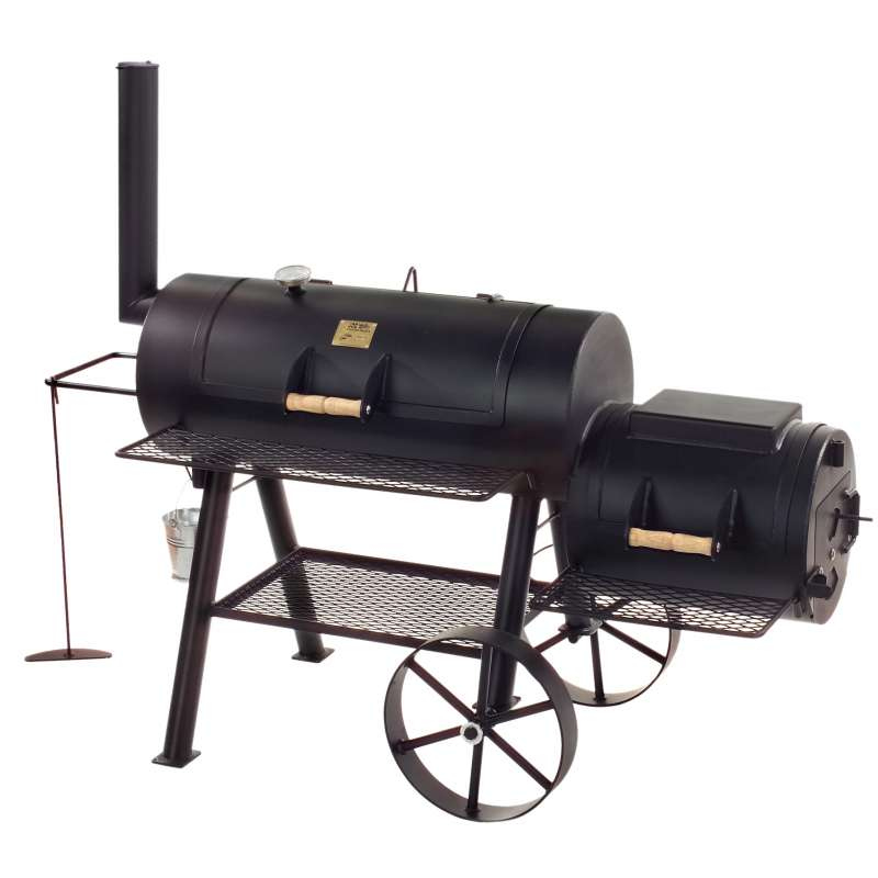 Rumo Barbeque JOEs Smoker 16 Zoll Texas Classic lange Version JS-33752