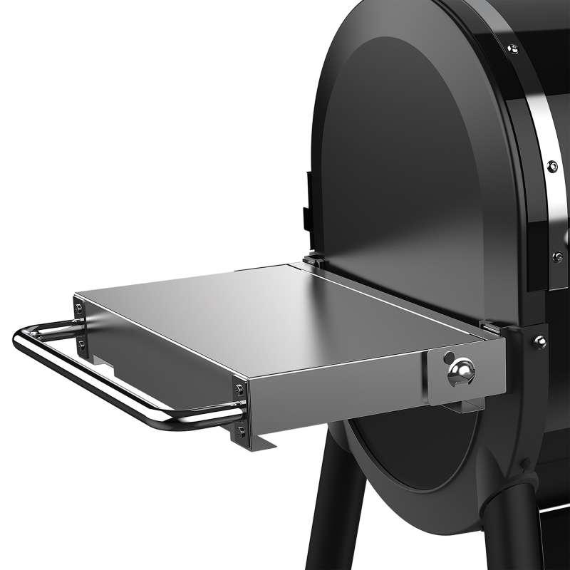 Weber klappbarer Seitentisch aus Edelstahl für SmokeFire EX4/EX6 Pelletgrill