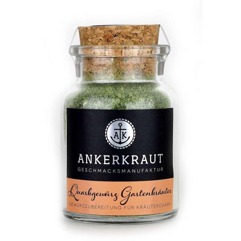 Ankerkraut Quarkgewürz Gartenkräuter Gewürzmischung Korkenglas 55 g Quarkdip