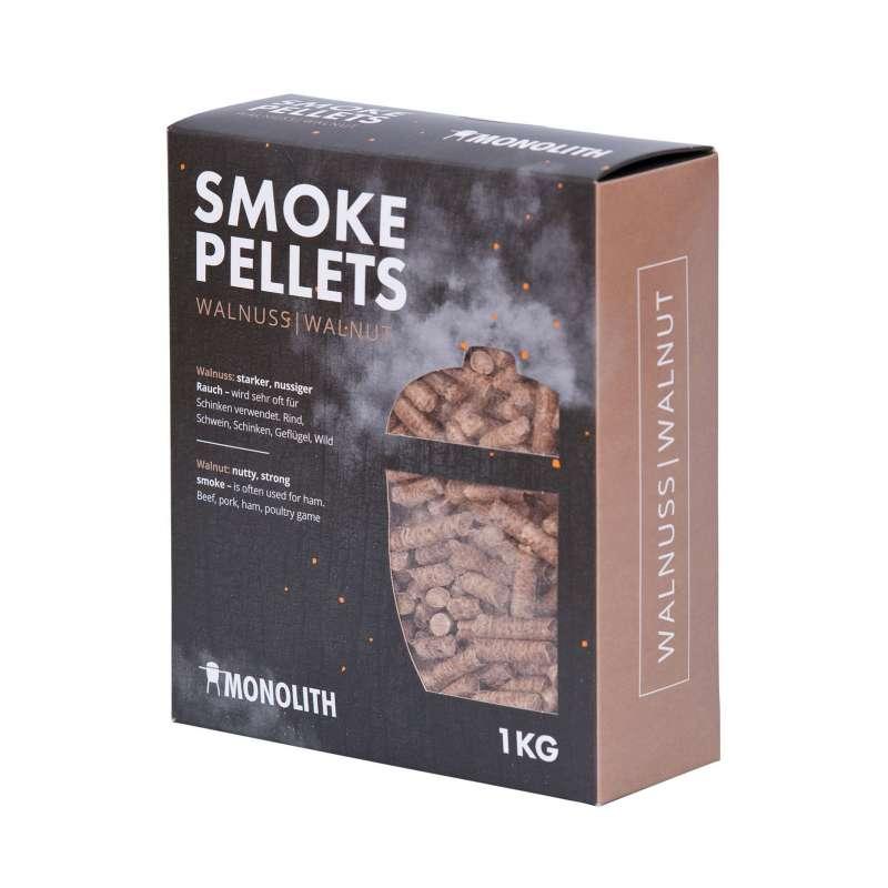 Monolith Smoke Pellets Grillpellets Räucherpellets Walnuss (Walnut) 1 kg 201106