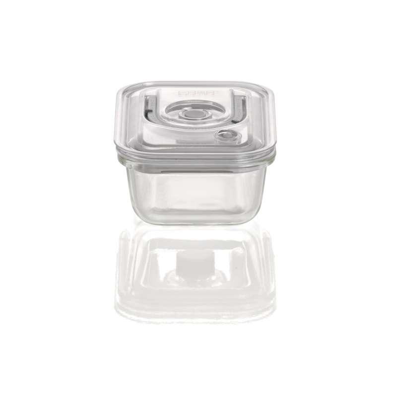 Caso VacuBoxx ES eckig 370 ml Glas Design Vakuumbehälter mikrowellengeeignet spülmaschinenfest