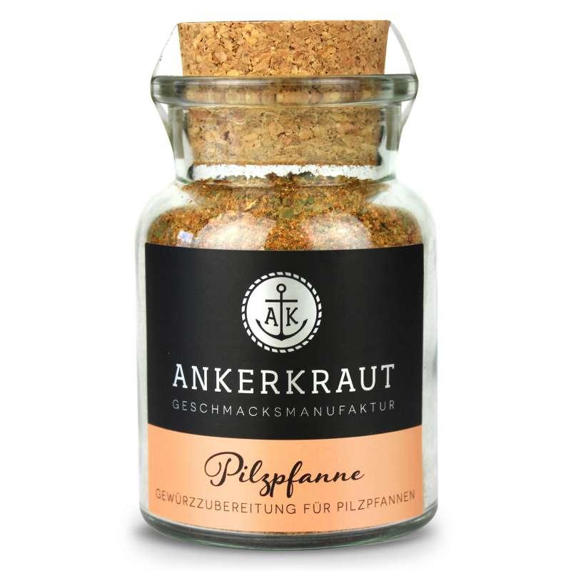 Ankerkraut Pilzpfanne Korkenglas 75 g Gewürzmischung für Pilze