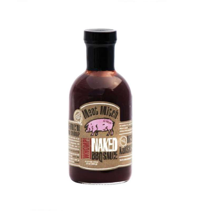 Rumo Barbeque Meat Mitch Naked BBQ-Sauce 480 ml Grillsauce Barbecuesauce MM-2083