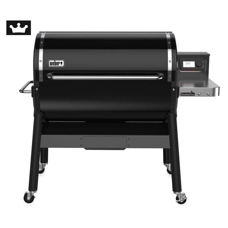 Weber SmokeFire EX6 GBS Holzpelletgrill Black