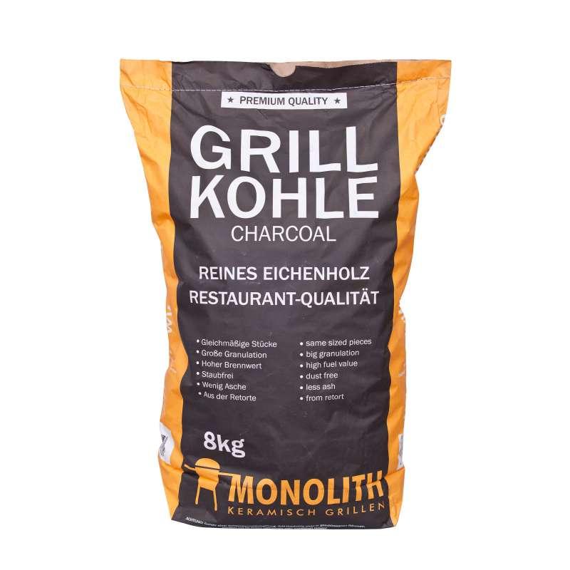 Monolith Premium Grillkohle Holzkohle in Restaurant Qualität 8 kg 201090