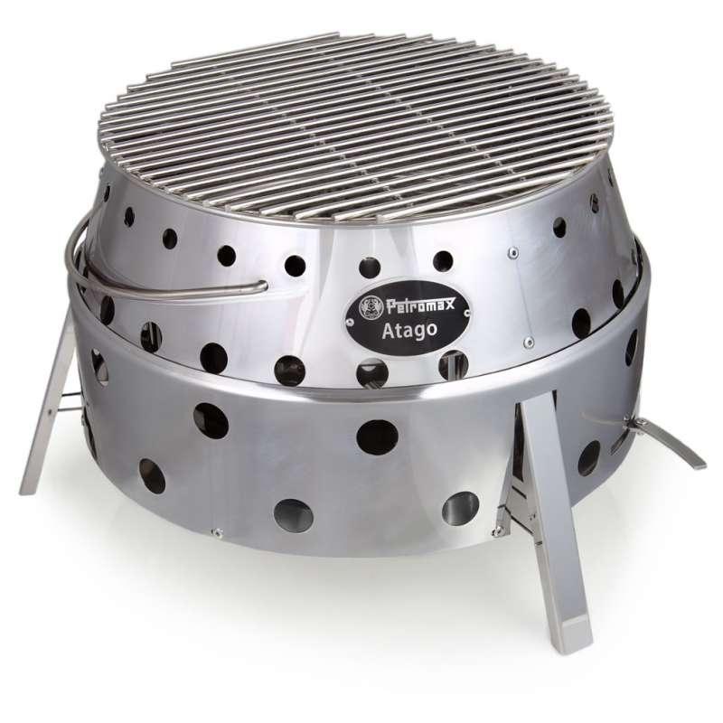 Petromax Grill Allrounder Atago Feuerschale Grill Feuerstelle 40 x 40 x 14 cm