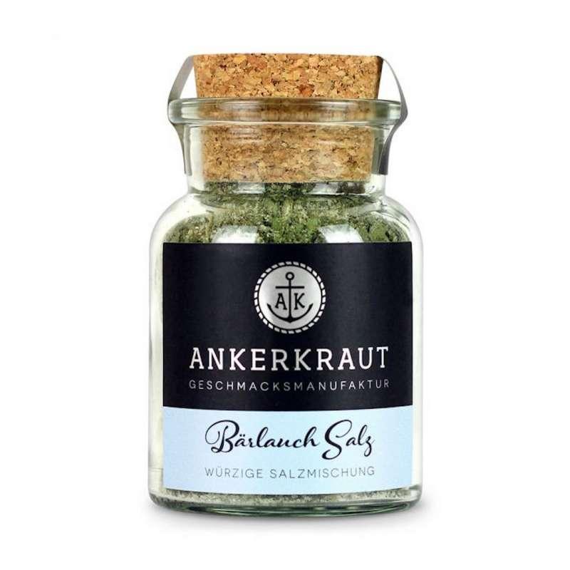 Ankerkraut Bärlauch Salz Meersalz Gewürz Salzgewürz Korkenglas 115 g