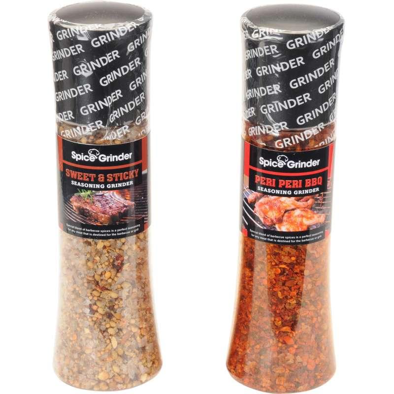 Grillgewürzset 2 Stück Peri Peri BBQ & Sweet & Sticky Gewürzmühle