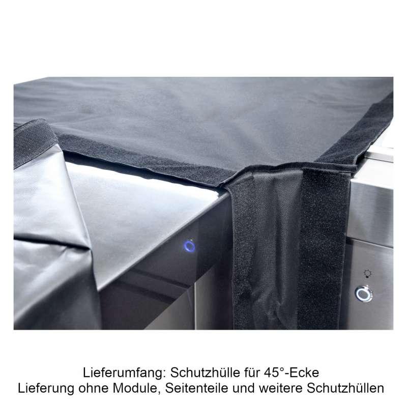 Allgrill 77850-13 modulare Abdeckhaube Schutzhülle für Modul 13 45°-Ecke Outdoorküche