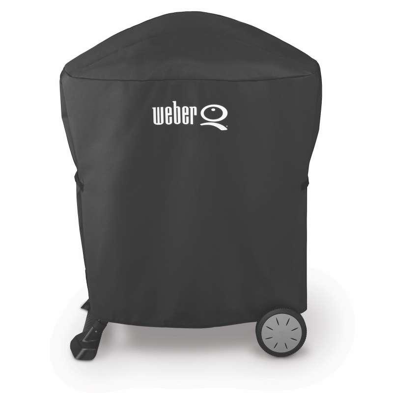 Weber Premium Abdeckhaube für Q 1000 und Q 2000 Serie mit Stand oder Rollwagen