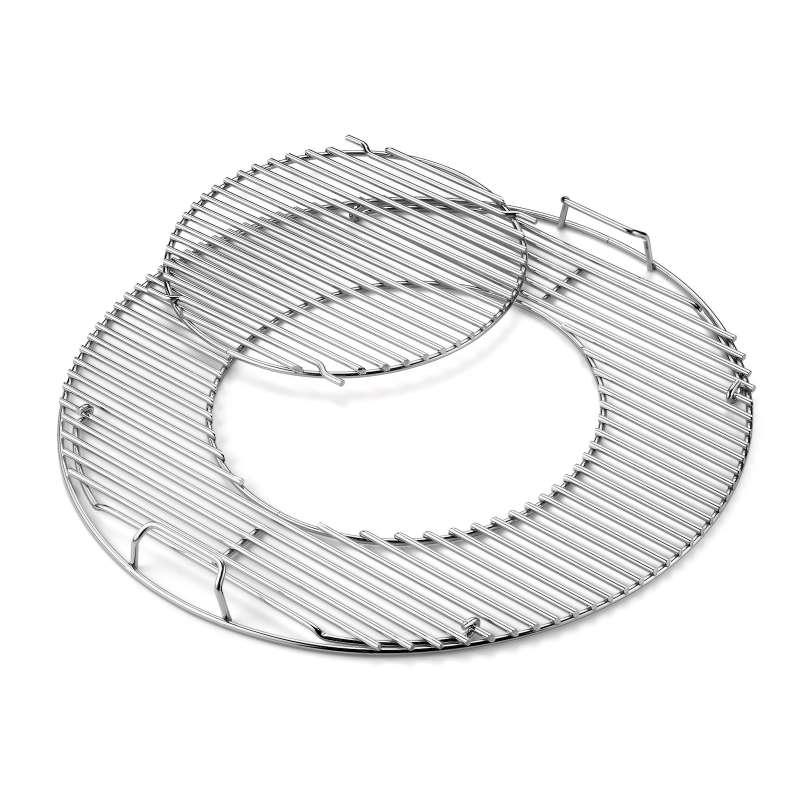 Weber Grillrost Einsatz - Gourmet BBQ System für Holzkohlegrills Ø 57 cm
