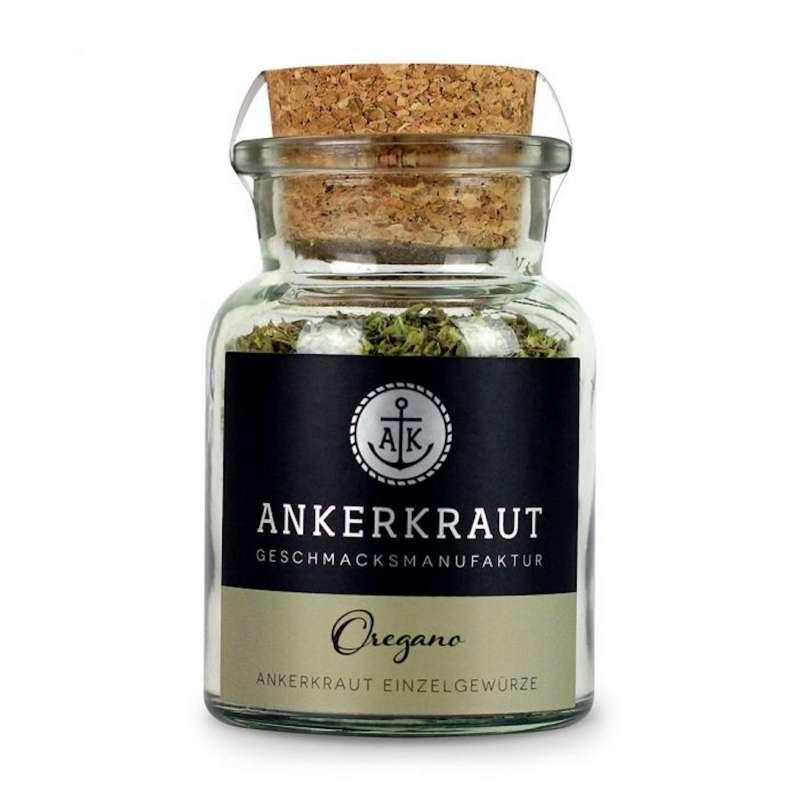 Ankerkraut Oregano Gewürz Oreganogewürz gerebelt Grillgewürz Korkenglas 20 g