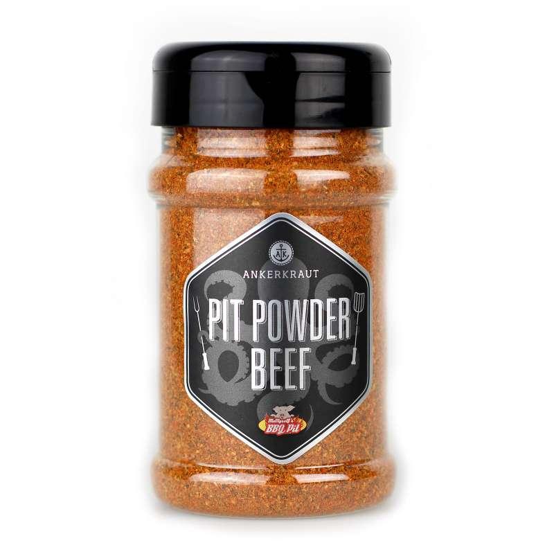 Ankerkraut Pit Powder Beef BBQ Rub 200 g Trockenmarinade Gewürzzubereitung
