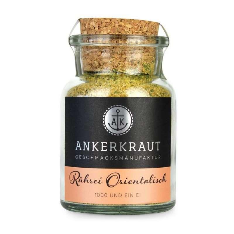 Ankerkraut Rührei Orientalisch Gewürzmischung Gewürzzubereitung im Korkenglas 85 g