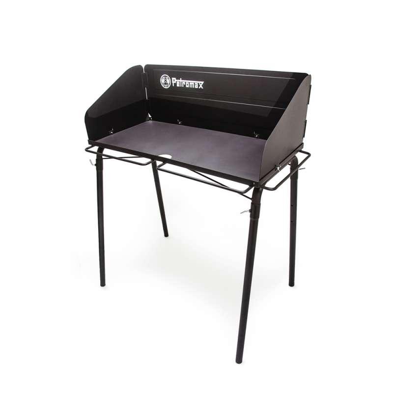 Petromax Feuertopf-Tisch fe90 Ablagemöglichkeit für Kochzubehör 103x116x68 cm