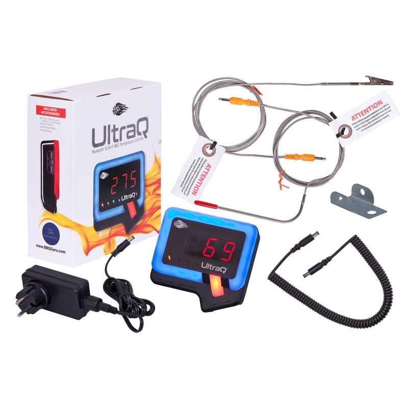 Monolith UltraQ Set zu BBQ Guru Edition Bluetooth/WLAN Controller Temperaturregler 109099