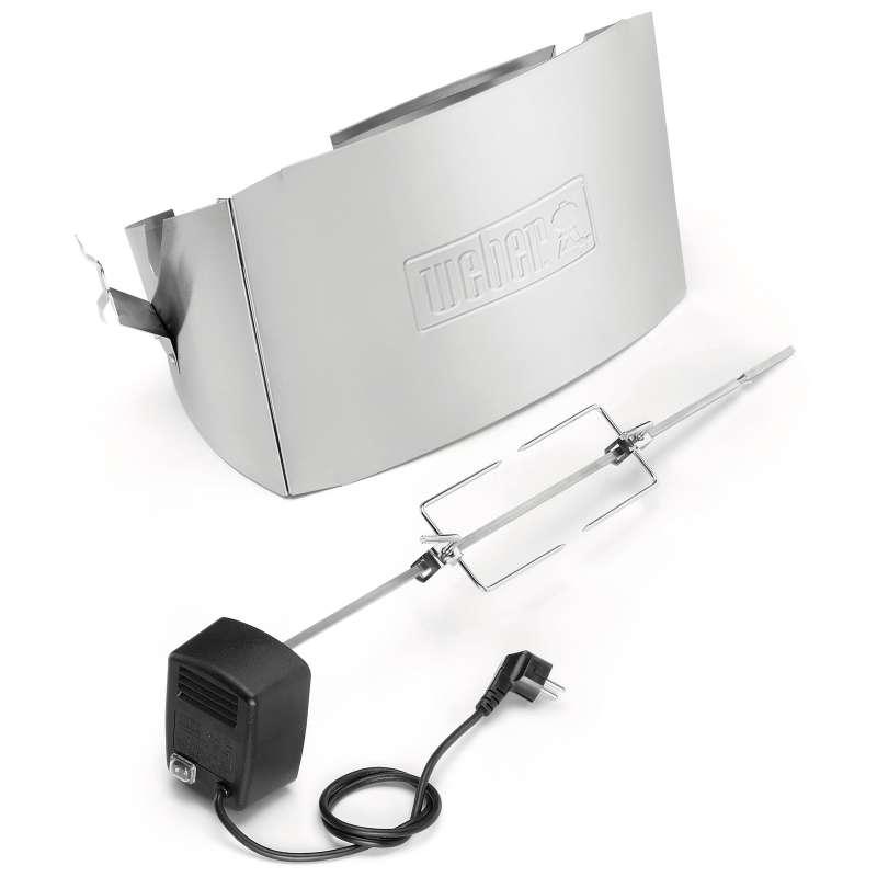 Weber Drehspiess für Q 100-/1000 Serie Gas und Elektro mit elektrischem Motor