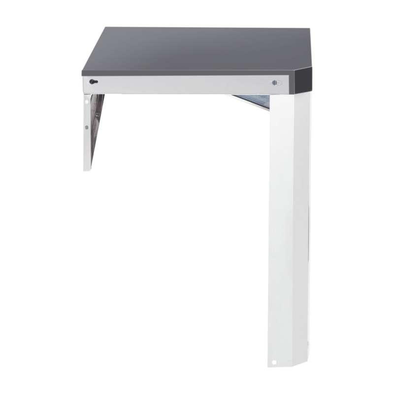 Allgrill Top-Line modulare Outdoorküche Edelstahl Modul 12 90°-Ecke Eckverbindung