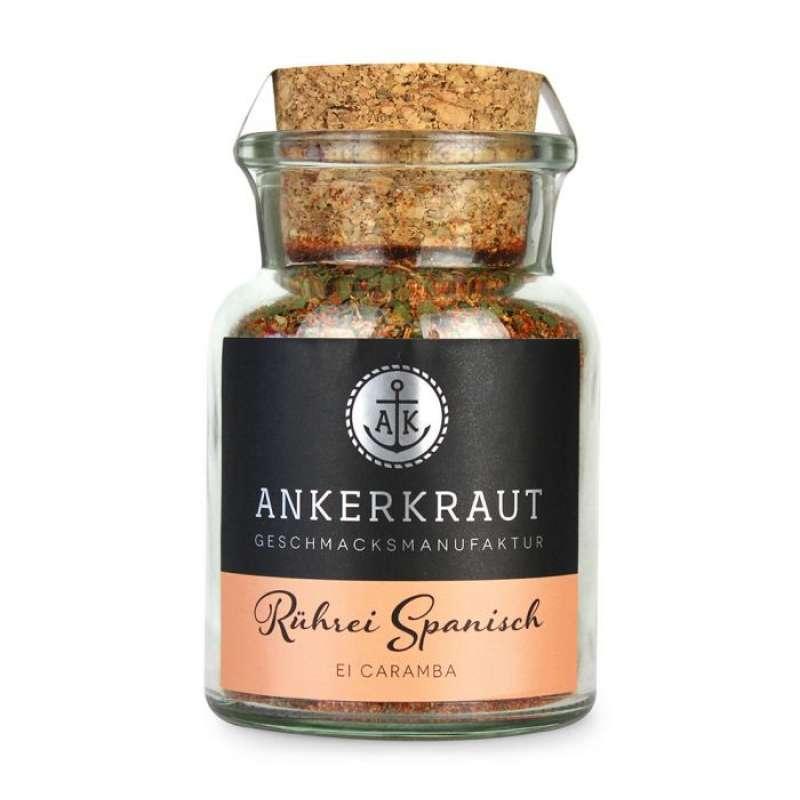 Ankerkraut Rührei Spanisch Gewürzmischung Gewürzzubereitung im Korkenglas 85 g