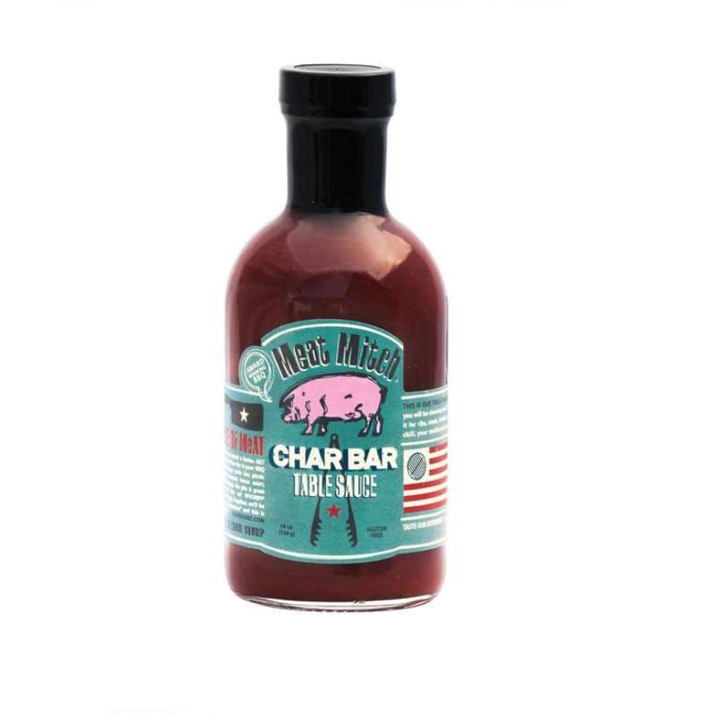 Rumo Barbeque Meat Mitch Char Bar Table Sauce BBQ-Sauce 480ml Grillsauce MM-2090