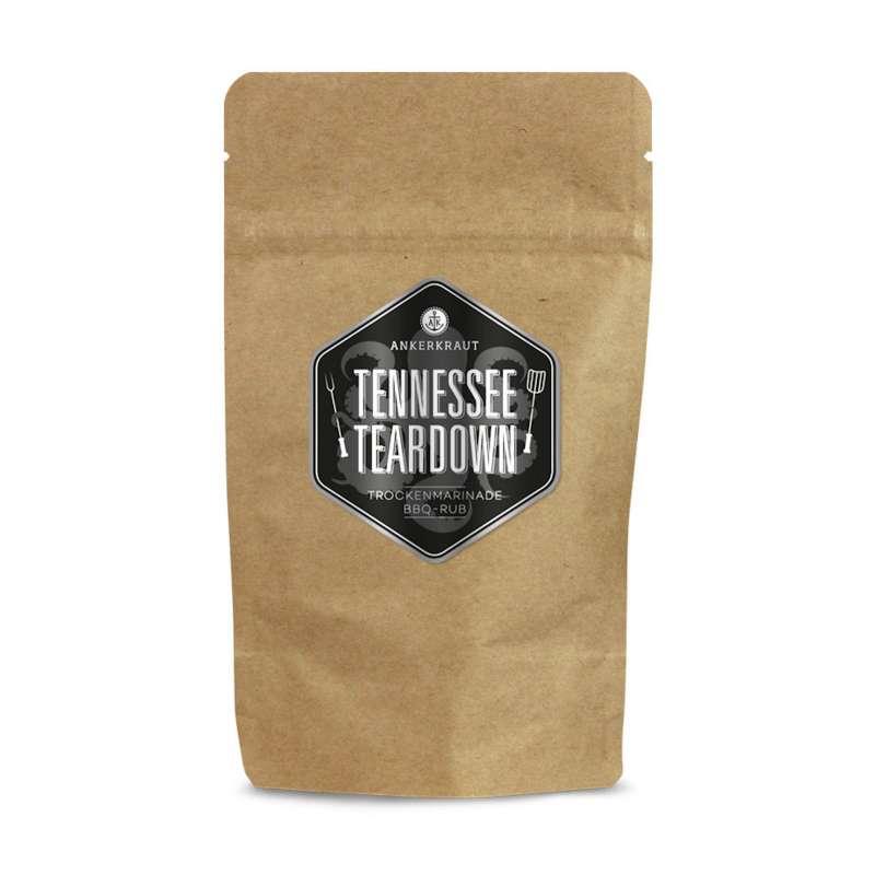 Ankerkraut Tennessee Teardown BBQ Rub in der Tüte Nachfüllpack 250 g