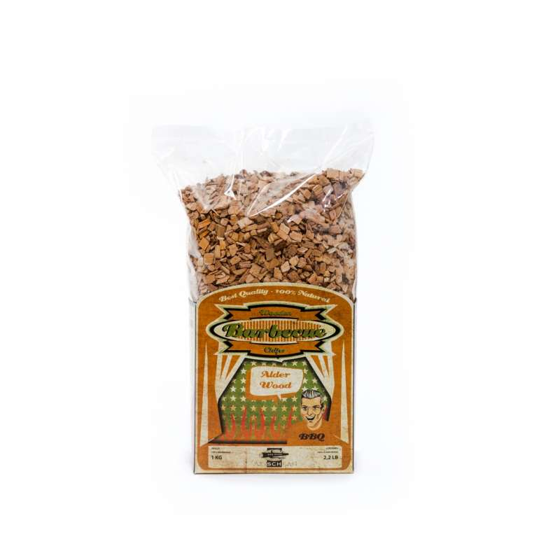 Axtschlag Wood Smoking Chips Alder - Räucherholz Erle 100G00M0600V