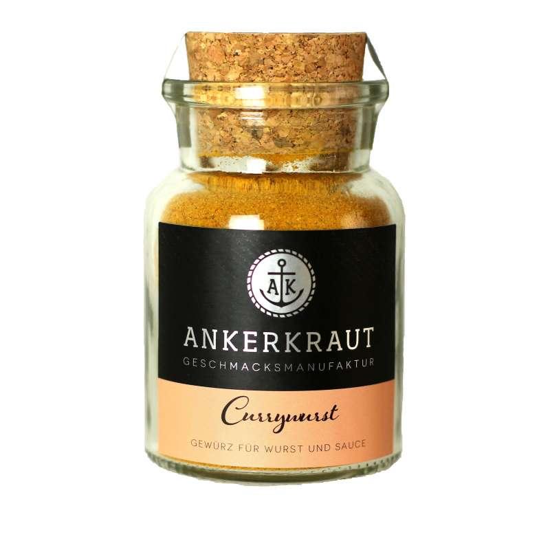 Ankerkraut Currywurst Gewürzmischung Currysauce 90 g Gewürz für Wurst Sauce