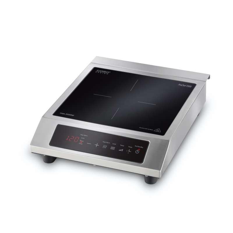 Caso Design ProChef 3500 Mobiles Induktionskochfeld Kochplatte mit Smart Control 12-Stufensteuerung