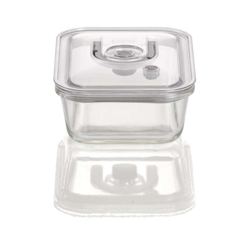 Caso VacuBoxx EL eckig 1000 ml Glas Design Vakuumbehälter mikrowellengeeignet spülmaschinenfest