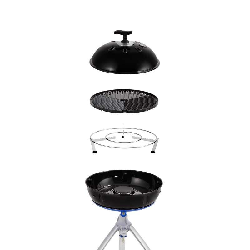 Cadac Grillo Chef 2 BBQ Chef Pan Gasgrill Campinggrill 50mbar ø 38,5 cm inklusive Deckel 5650-41-DE