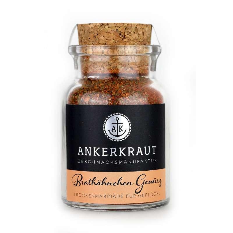 Ankerkraut Brathähnchen Gewürz Gewürzmischung für Geflügel im Korkenglas 75 g
