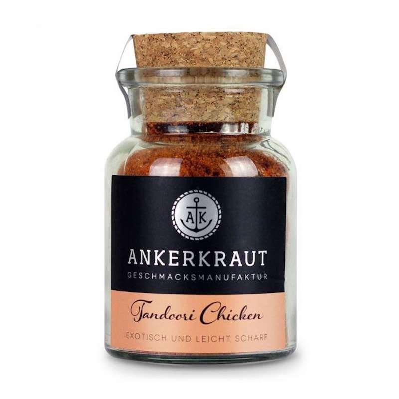 Ankerkraut Tandoori Chicken Hähnchengewürz Geflügel Gewürzmischung Korkenglas 90 g