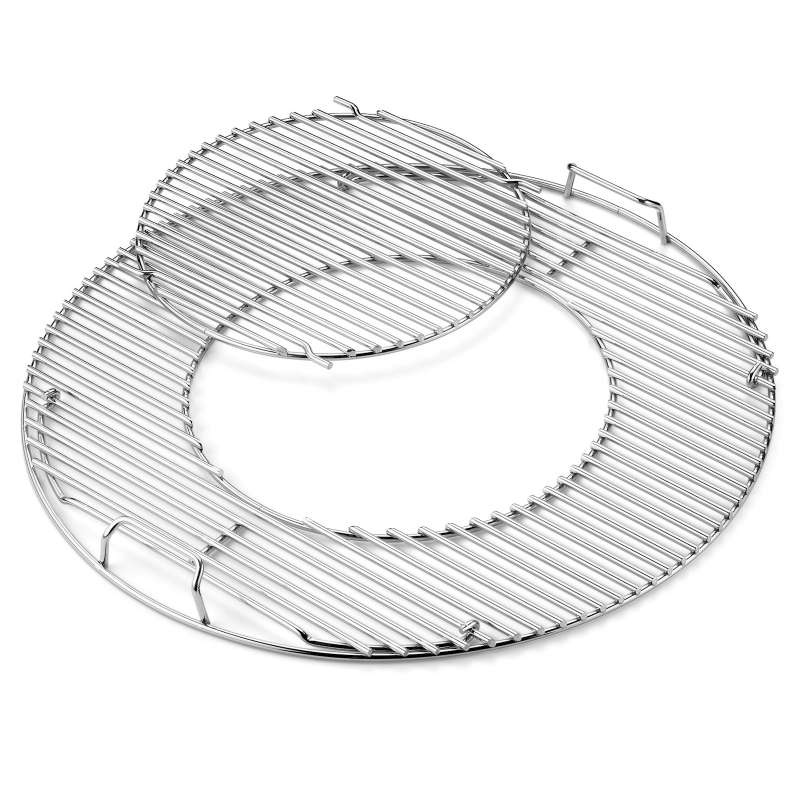 Weber Grillrost Einsatz - Gourmet BBQ System aus Edelstahl für Grills Ø 57 cm