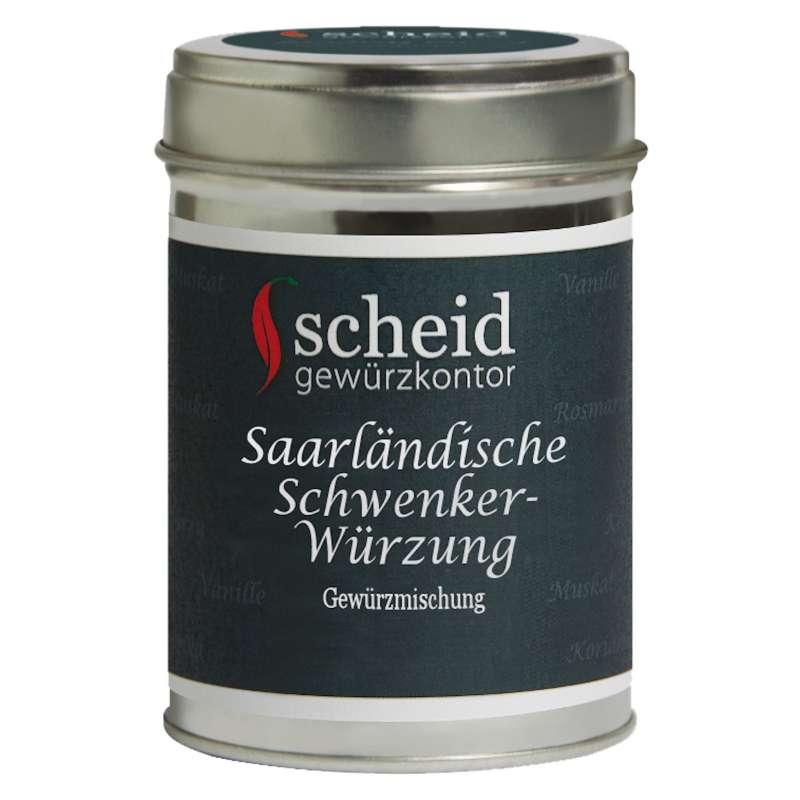 Scheid Grillgewürz Saarländische Schwenker-Würzung Gewürzmischung 80 g