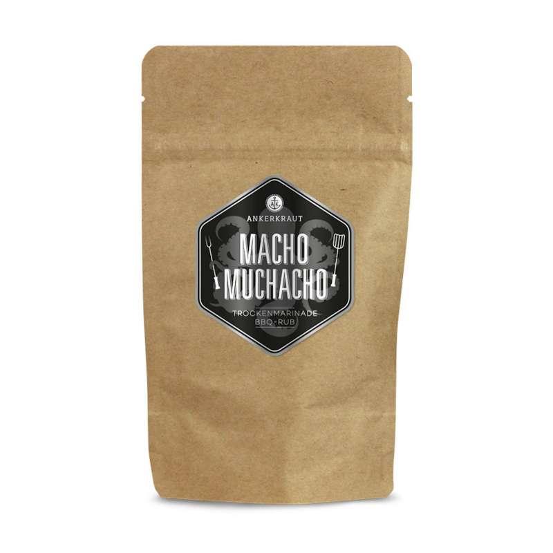 Ankerkraut Macho Muchacho BBQ Rub Gewürzmischung in der Tüte Nachfüllpack 250 g