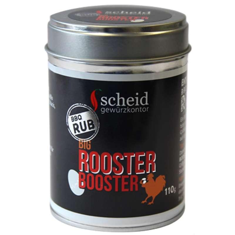 Scheid Big Rooster Booster Gewürzmischung BBQ Rub 110 g