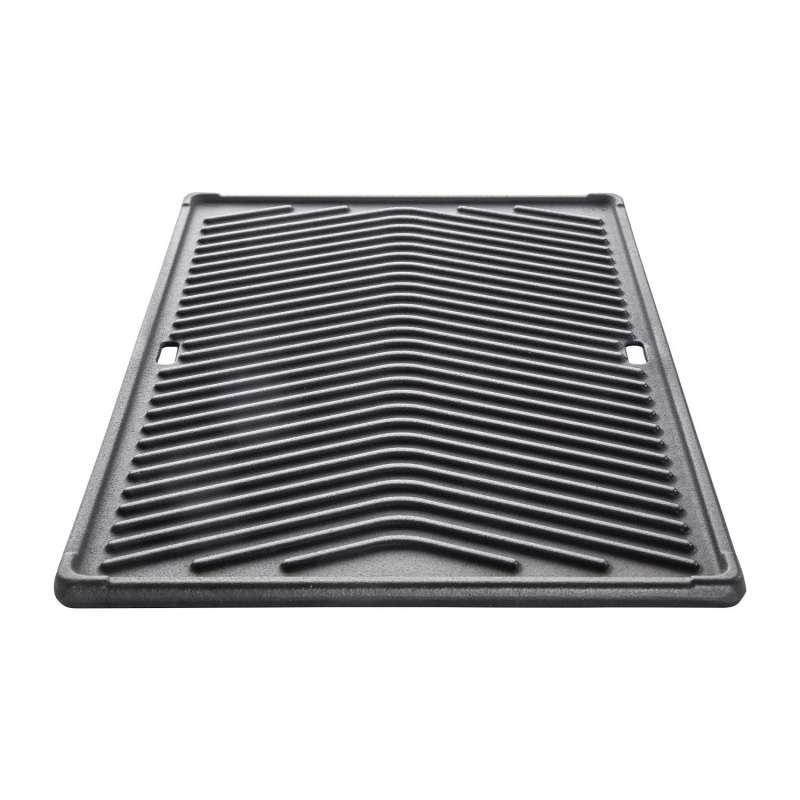 Allgrill Gussplatte für Gasgrill Chef L/XL, Ultra, Outdoorküche 35 x 46 cm Gusseisen Grillplatte