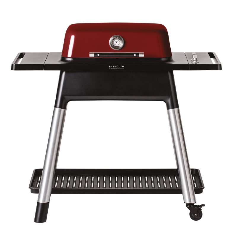Everdure Gasgrill Force 2-Brenner Grill Farbe Rot HBG2RDE