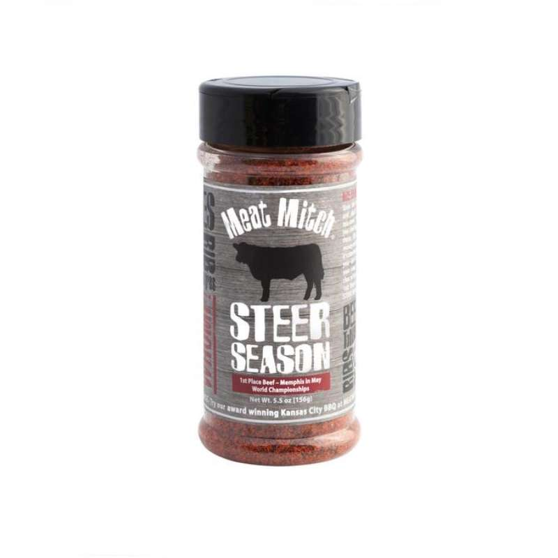 Rumo Barbeque Meat Mitch Steer Season Rub 176 g Gewürzzubereitung