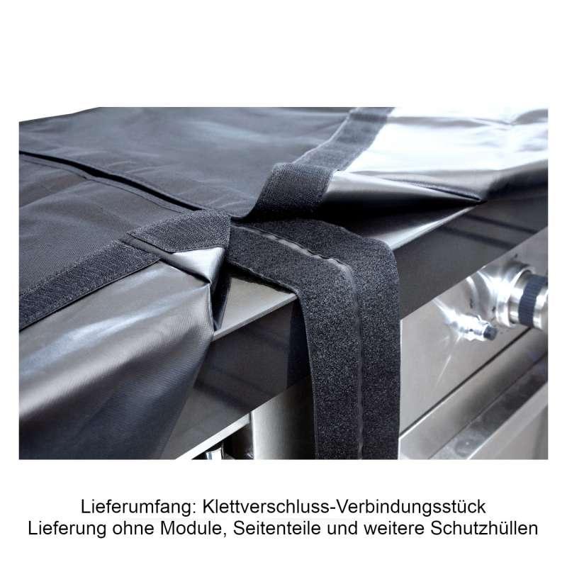 Allgrill 77850-14 modulare Abdeckhaube Schutzhülle Verbindungsstück Klettverschluss Outdoorküche