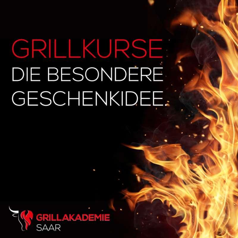 Gutschein für Grillkurs in der Grillakademie Saar in Saarlouis / Saarland im Wert von 39.- €